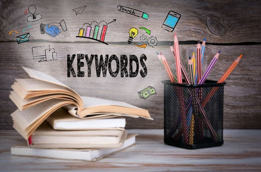 designing seo websites for keywords