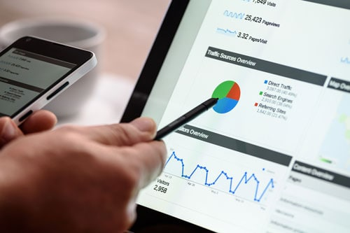 SEO website Google Analytics
